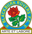 "Наклейка ФК ""Блэкберн Роверс"" (Blackburn Rovers)"